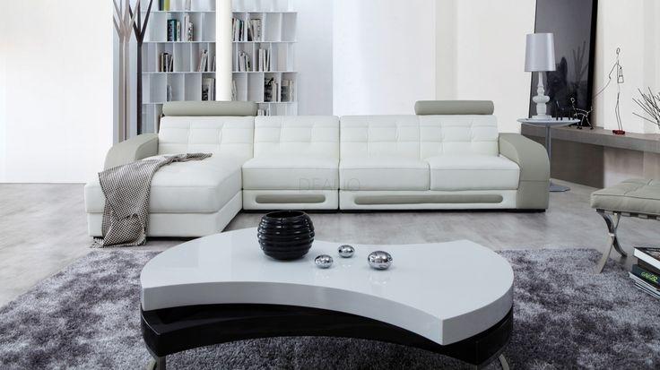 Casanova Leather Chaise Lounge Option B - Lounge Life