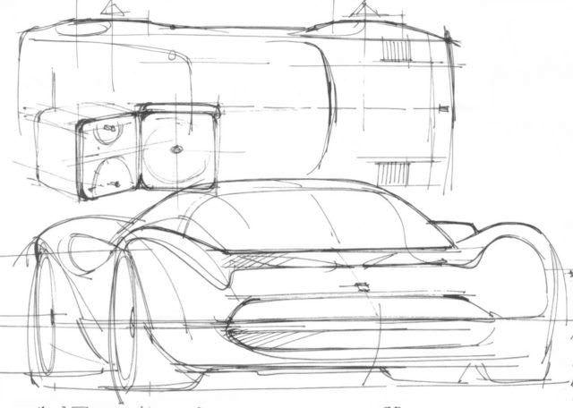 Imagen Dibujos De Coches Autos Para Dibujar Bosquejo Del Diseno Del Coche