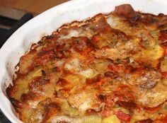 Aardappeltaart met spek en ui - Keuken♥Liefde