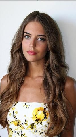 7 Awesome Hairstyles For Girls With Long Hair. I also like her very subtle ombre.