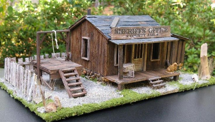 Old West Diorama