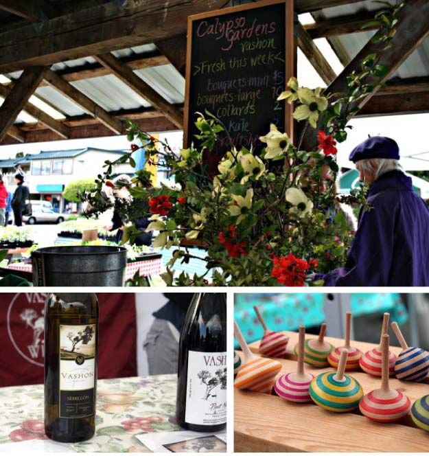 Living On Vashon Island : VASHON SAT MARKET: From the Fauntleroy ferry dock in West ...