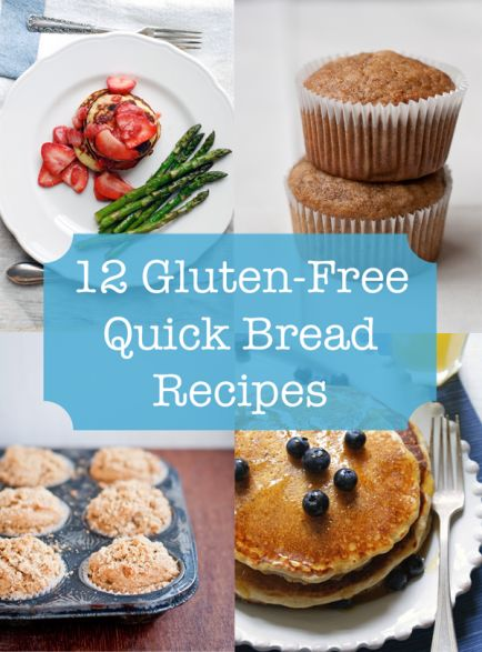 12 Gluten-Free Quick Bread RecipesEasy Recipe, Gluten Fre Quick, Breads Recipe, Gluten Recipe, Quick Breads, Bread Recipes, 12 Gluten Fre, Gluten Free Quick Bread, Gluten Free Breads