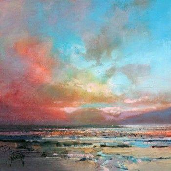 Harris Warm Sky Study: Scottish Art   Scott Naismith
