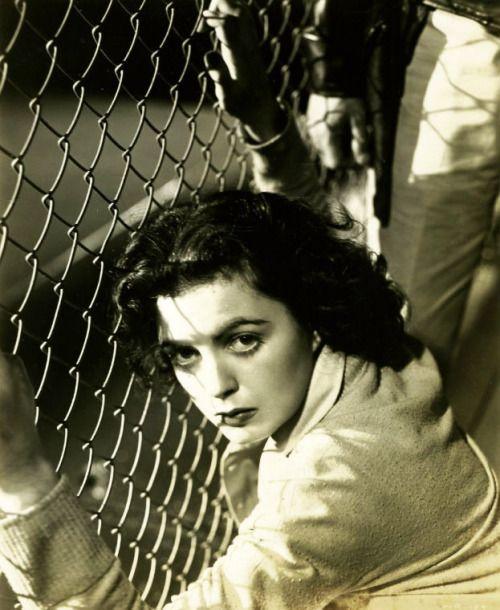 """ Nobody pities me - nobody""  Faith Domergue, Where Danger Lives, 1950"