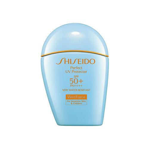 Shiseido Perfect UV Protector SPF50+ for Sensitive & Children Skin - Everglow #Shiseido