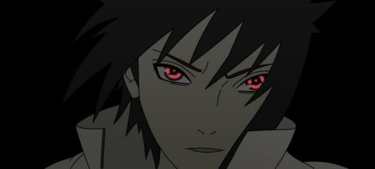 sasuke with itachi's eye .. yes i did it on purpose (y) colors - ME Line Art - kujaex comments ?