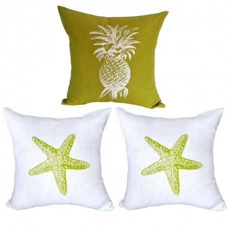 Love these gorgeous linen cushions from K Trade - can the pineapple scream Summer any louder?!