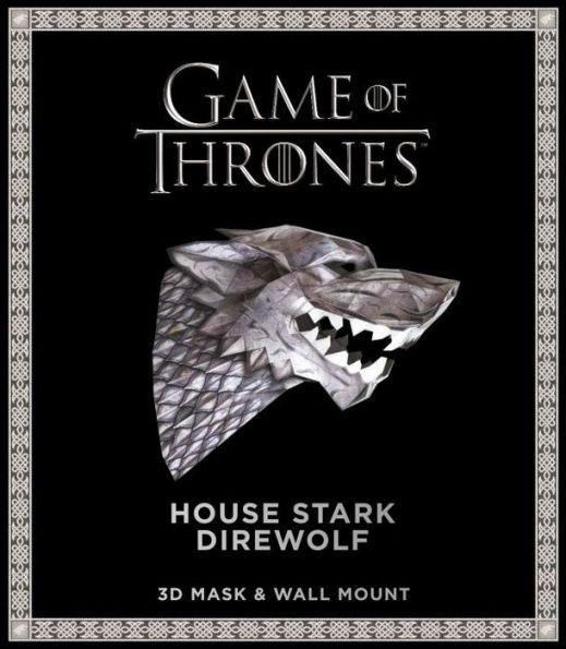 Game of Thrones Mask: House Stark Direwolf (3D Mask & Wall Mount) by Wintercroft, Paperback | Barnes & Noble®