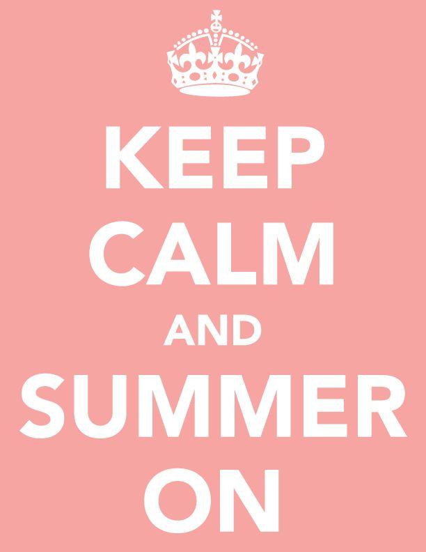 Summer's finally here!