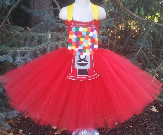 Gumball Machine Tutu Dress Bubblegum Dress Gumball Machine