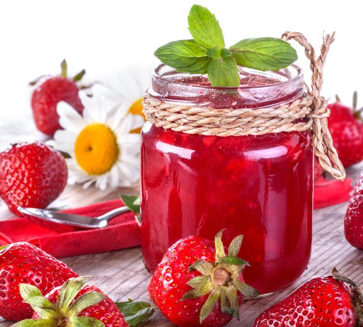 einmachen mit stevia marmelade selbermachen leckere erdbeer rezepte. Black Bedroom Furniture Sets. Home Design Ideas