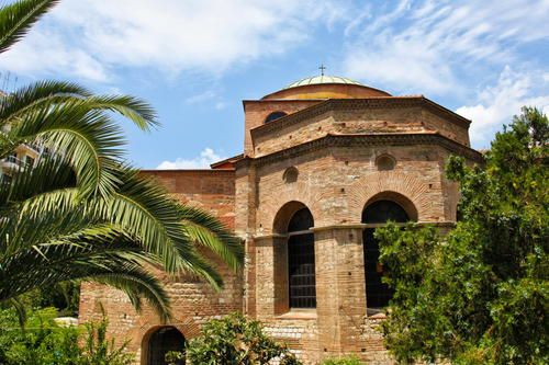 Paleochristian and Byzantine Monuments of Thessalonika
