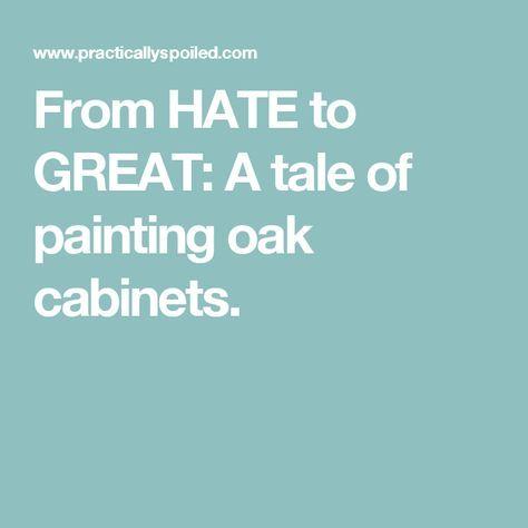 Best 25 Painting Oak Cabinets Ideas On Pinterest