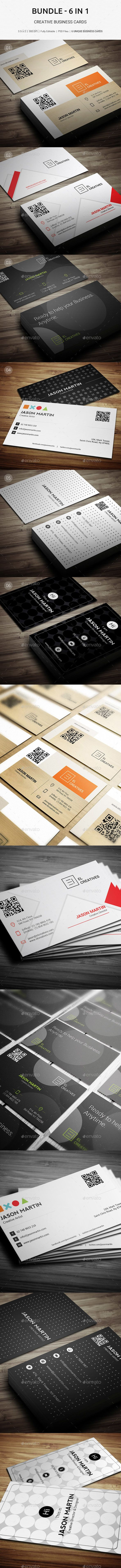 2854 besten Business Card Template & Design Bilder auf Pinterest