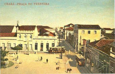 Fortaleza Nobre   Resgatando a Fortaleza antiga: A Praça do Ferreira entre os anos 1930 e 1960