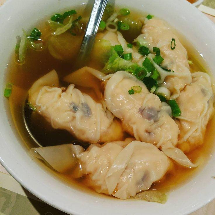 Shrimp Dumplings 水餃 @congeequeenrestaurant