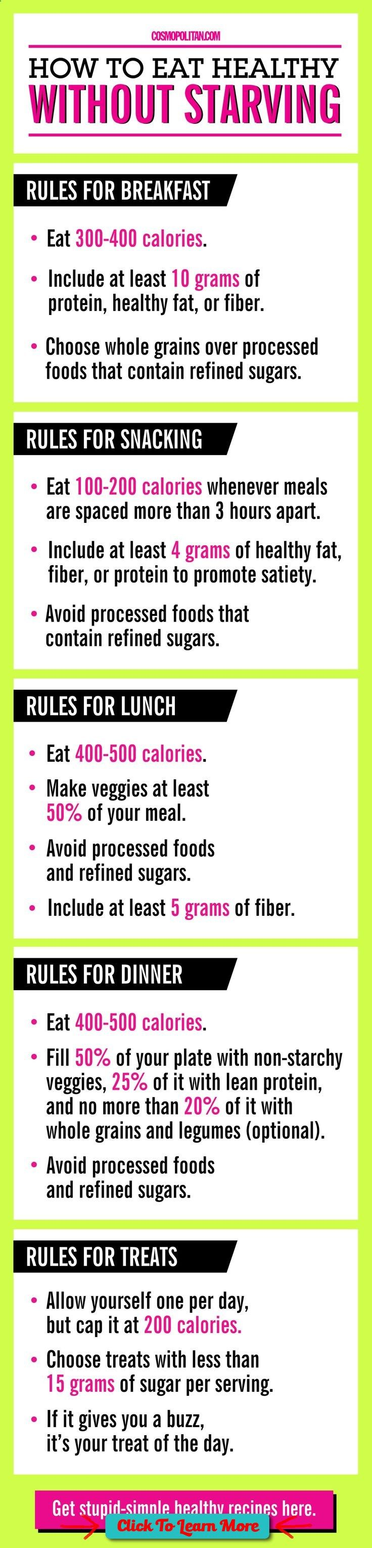 These clean eating tips are perfect for the beginner, or if you've fallen off track. Use an app like My Fitness Pal if you want to track your macros/calories (scheduled via www.tailwindapp.com) #health #fitness #weightloss #healthyrecipes #weightlossrecip | https://lomejordelaweb.es/