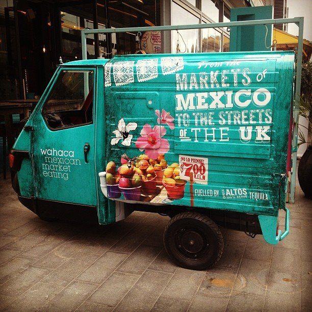 Oaxaca AKA Wahaca cachito de Mexico en Londres