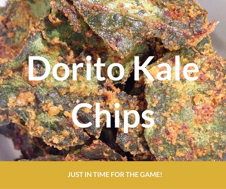 Dorito Kale Chips - Keto and LCHF friendly snacks!