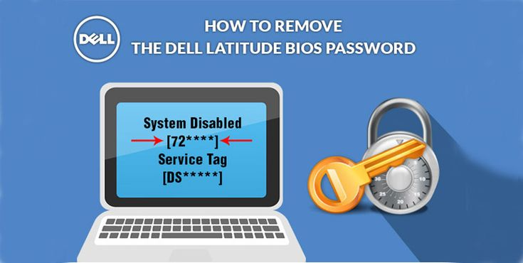 The startup operation on Dell PC is controlled with the help of BIOS. You can set the password to lock the BIOS and the system won't start the bootstrap process unless an appropriate password is entered.