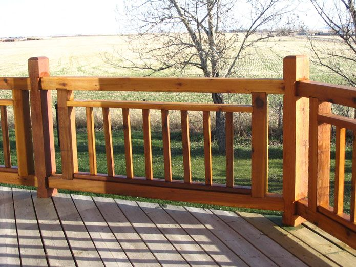 25 Best Ideas About Deck Railing Design On Pinterest