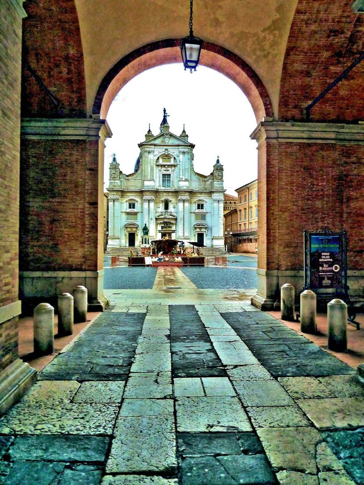 Loreto is a hilltown and comune of the Italian province of Ancona, in the Marche.