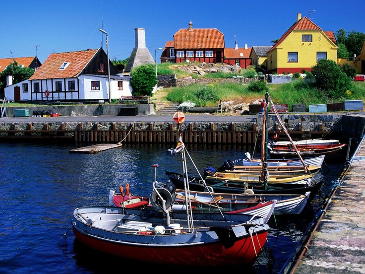 As a kid we went to Bornholm almost every summer. Beautiful island in Denmark. Absolutly worth traveling to. Gudhjem Bornholm Denmark