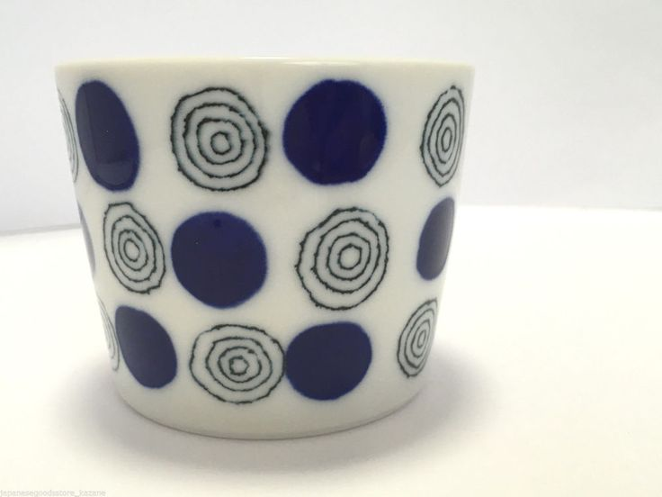 Japanese Cup Small Bowl Dinner Ware Minoyaki Polkadots Made in Japan | eBay
