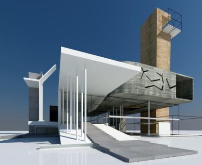 Best Church Design Drawing Images On Pinterest Church Design