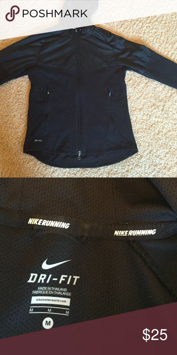 Men's Nike Running jacket size medium Men's Nike running jacket size medium. In good condition. Nike Jackets & Coats Performance Jackets