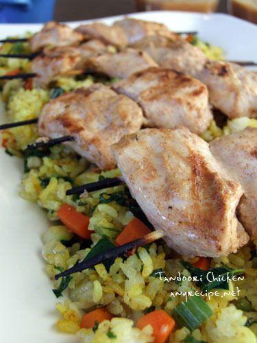 鶏胸肉でチキンティッカ(インド料理) by カリフォルニアのばあさん ...