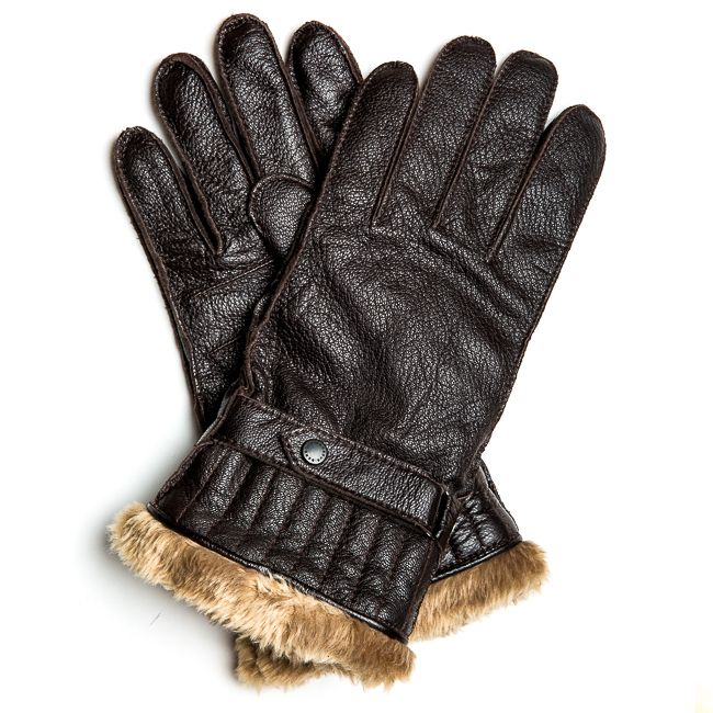 Barbour gloves with 3M Faux fur lining. Excellent gift for the other half this cold winter!