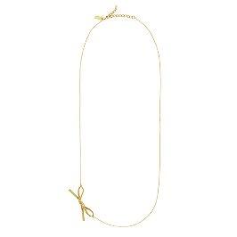 skinny mini long bow necklaceKatespade