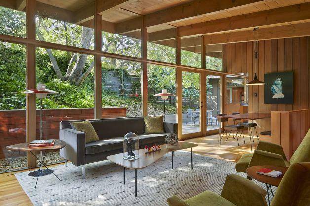 Berkeley architect Joanne Koch was drawn to her home's earthy Northern California design and tried to achieve a balance of indoor-outdoor living space for her family. Photo: Bruce Damonte