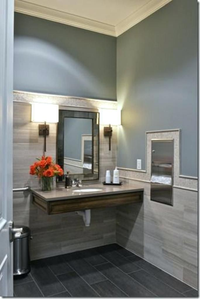 Decorating Small Office Modern Small Office Bathroom Designs ...