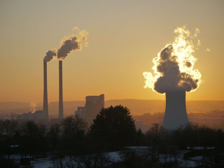 #abendstimmung #afterglow #air #atmosphere #back light #baden wrttemberg #chimney #coal fired power plant #cooling tower #dusk #energy #exhaust #factory #flame #heilbronn #industrial plant #industry #mood #power pl