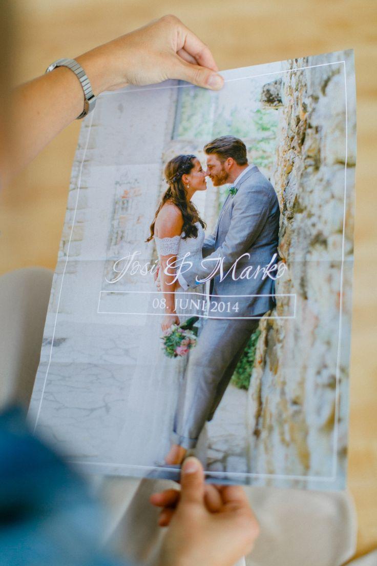 Danksagungskarte als Poster - Hochzeitsfotograf Bremen - marryme by Anna und Andreas