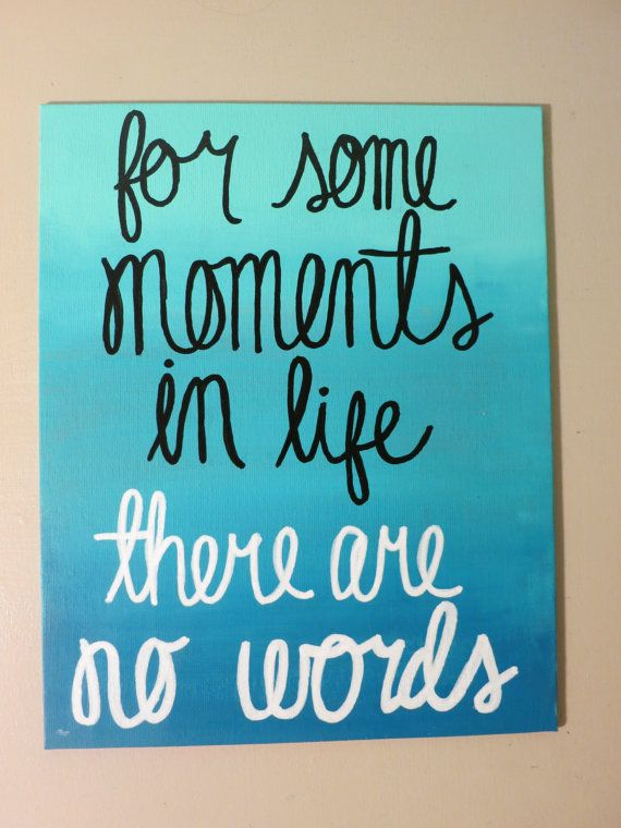 Ombre Quote Canvas by annielayer on Etsy, $14.00
