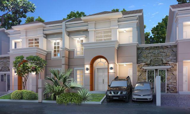 Gambar model rumah mediteranian satu lantai - Gambar Model Rumah Minimalis Modern