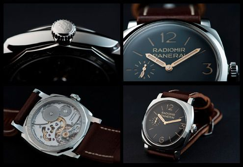 PAM 399 announced in SIHH 2012. Only 50 pieces available. Only 50 very fortunated owners.