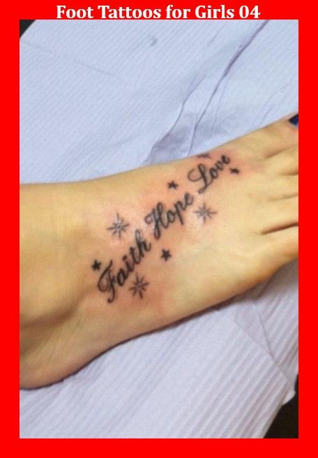 Foot Tattoos for Girls 04
