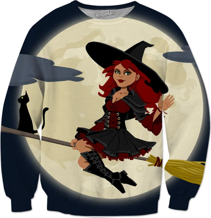 Funny Witch Sweatshirt  #rageon #erikakaisersot #sweatshirts #fairytales