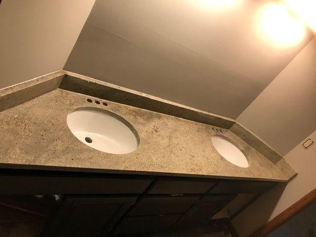 Vanity Using Astoria Granite Countertop Fabricated And Installed