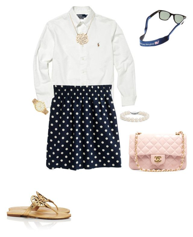 on polyvore featuring polo ralph lauren tory burch blue nile kate. Black Bedroom Furniture Sets. Home Design Ideas