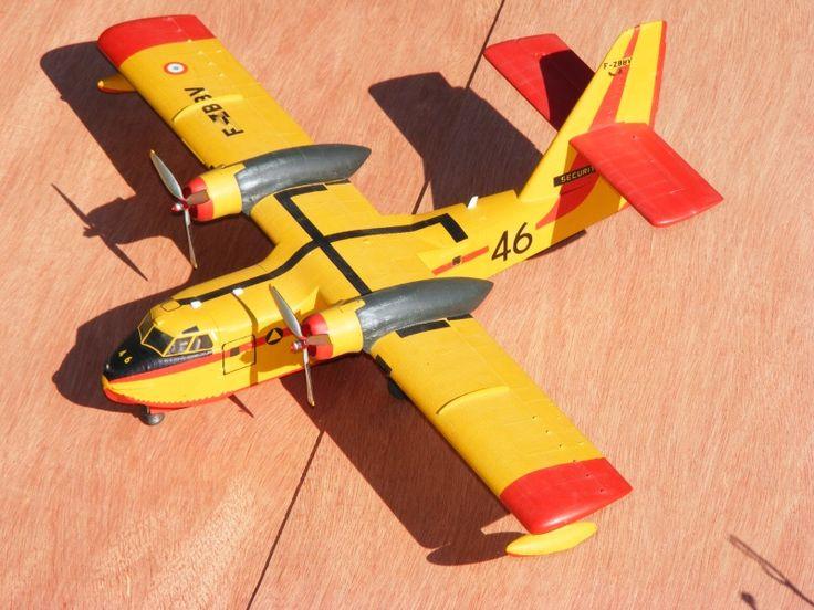 A faire : maquette Canadair CL-215 Heller 1/72