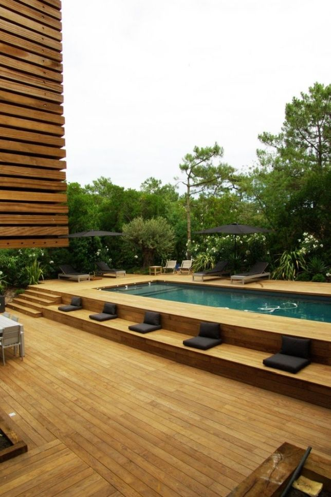 Beauty On A Budget Above Ground Pool Ideas Above Ground Swimming Pools Best Above Ground Pool Cool Swimming Pools