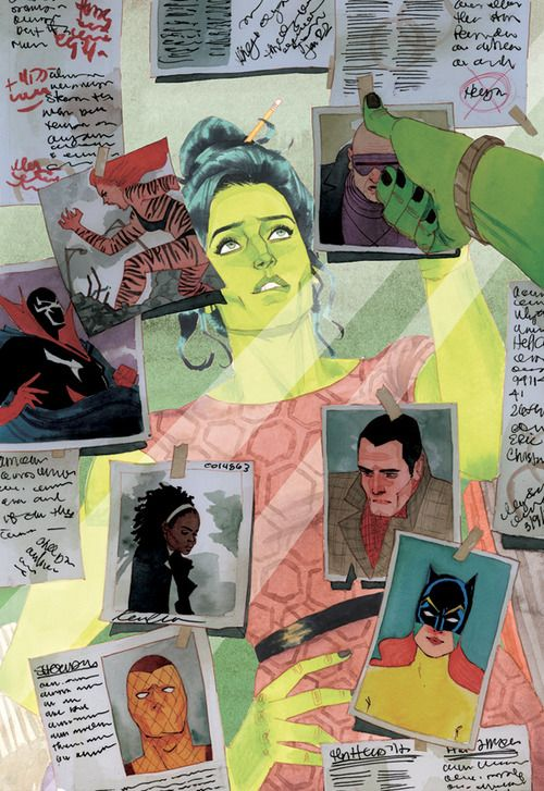 There she is, my lady, Hellcat! | She-Hulk 5 cover by Kevin Wada
