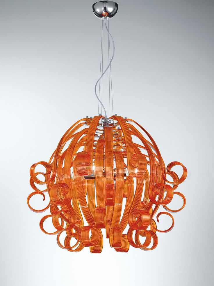 Murano Hand N Glass Contemporary Lamp Pendant Light Online Black White Grey Orange