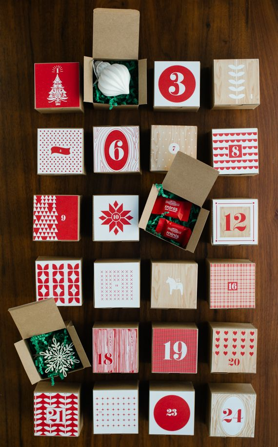 Free Printable: advent calendar